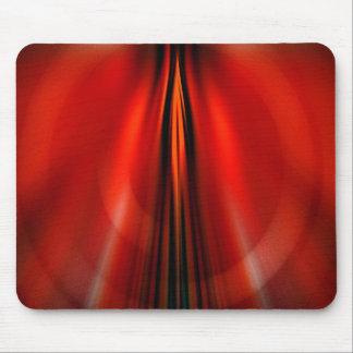 Futuristic abstract design mousepad