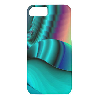 Futuristic, abstract Rainbowart iPhone 7 Case