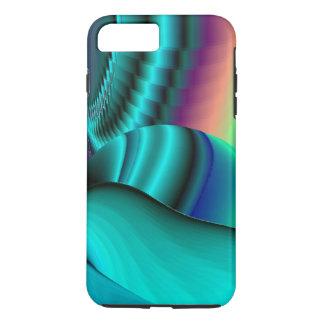 Futuristic, abstract Rainbowart iPhone 7 Plus Case