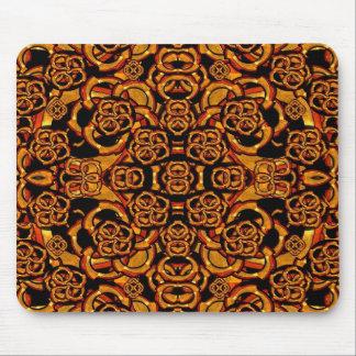 Futuristic Arabesque Pattern Mouse Pad