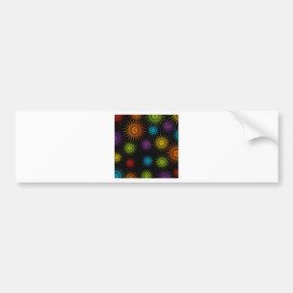 Futuristic artwork bumper sticker
