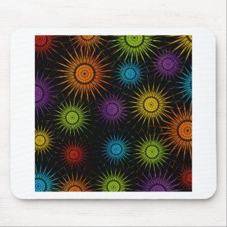 Futuristic artwork mouse pad