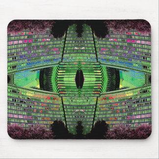 Futuristic Design Designer Mousepad 1 Mouse Pad