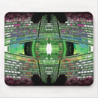 Futuristic Design Designer Mousepad 2 Mouse Pad