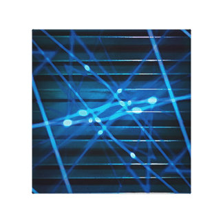 Futuristic Dynamic Abstract Design Stretched Canvas Prints