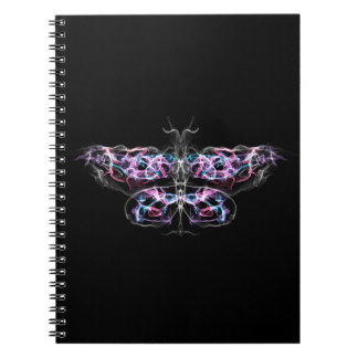 Futuristic Fractal Butterfly Notebooks