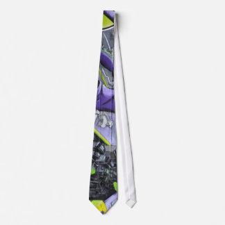Futuristic graffiti - tie