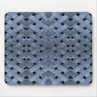 Futuristic Grid Pattern Mouse Pad