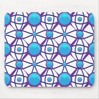 Futuristic High Tech Pattern Mouse Pad