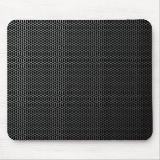 Futuristic Honeycomb Metal Mesh Texture Mousepad