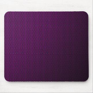 Futuristic Honeycomb Metal Mesh Texture Mouse Pad