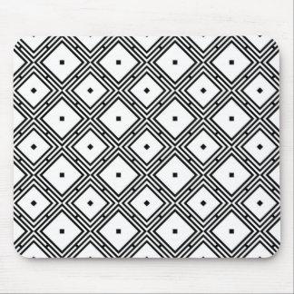 Futuristic Line Pattern Mouse Pads