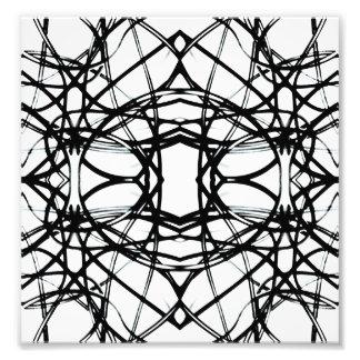 Futuristic Minimal Pattern Art Photo