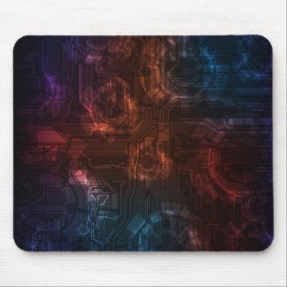 Futuristic mousepad