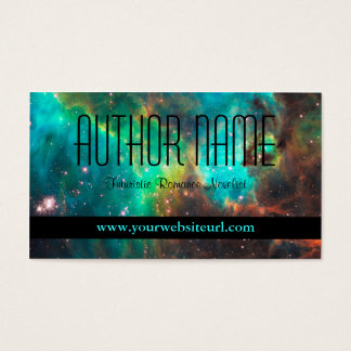 Futuristic or Sci Fi Author Business Card