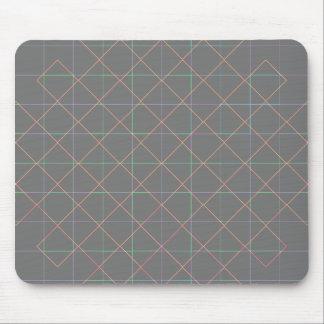 Futuristic Pinstripes Mouse Pad
