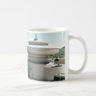 Futuristic Sci-Fi townscape Basic White Mug