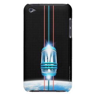 Futuristic Space Elevator Barely There iPod Case