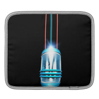 Futuristic Space Elevator iPad Sleeves