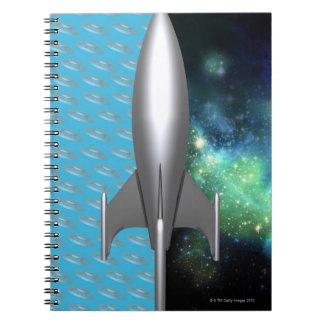 Futuristic Space Exploration Notebook