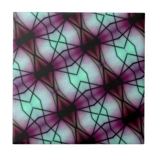 Futuristic Space Geometric Pattern Tile