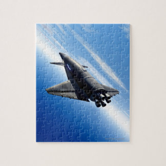 Futuristic Space Shuttle Jigsaw Puzzle