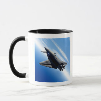 Futuristic Space Shuttle Mug