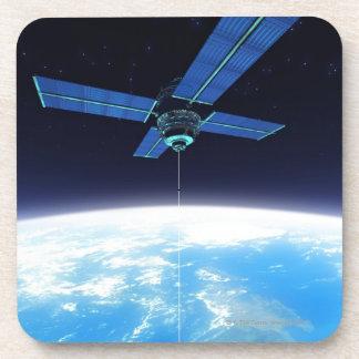 Futuristic Space Station Coaster