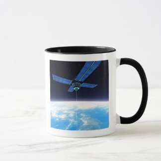 Futuristic Space Station Mug