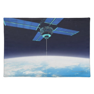 Futuristic Space Station Placemat