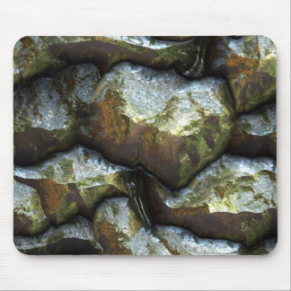 Futuristic Stone Patterns 1 Mouse Pad