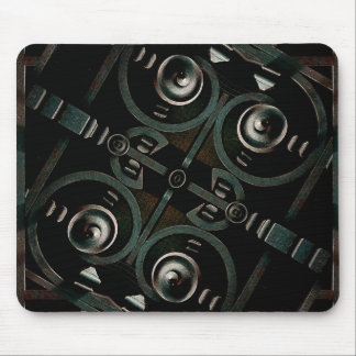 Futuristic Structure Mouse Pad