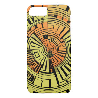 Futuristic technology abstract iPhone 7 case