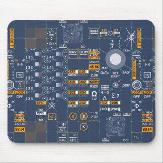 Futuristic User Interface Mouse Pad