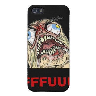 FUUUU Internet Meme Rage Face Iphone Cases iPhone 5/5S Cover