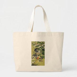 Fuyo soukeizu by Ito Jakuchu Jumbo Tote Bag