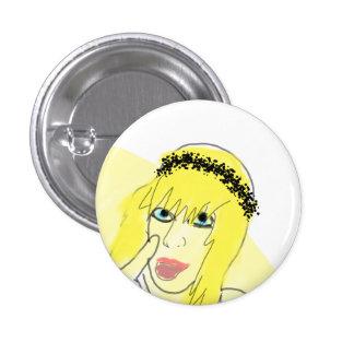 fuyu 3 cm round badge