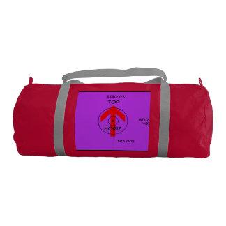 fuze duffel bag - horiz gym duffel bag