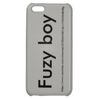 Fuzy boy phone case iPhone 5C cases
