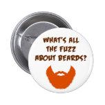 Fuzz About Beards Buttons