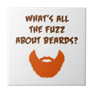 Fuzz About Beards Tile