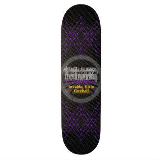 fuzzball 18.1 cm old school skateboard deck