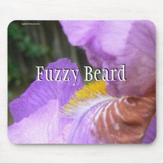 Fuzzy Beard Mouse Mat