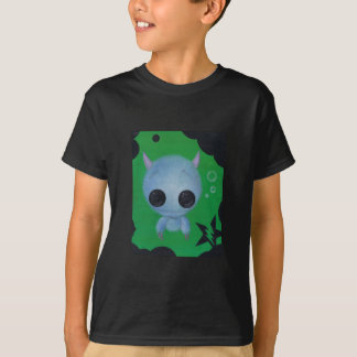 fuzzy bubble monster youth shirt