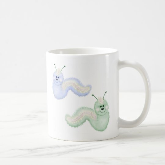 Fuzzy Caterpillers Coffee Mug