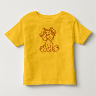 Fuzzy Puppy T-Shirt for Toddlers