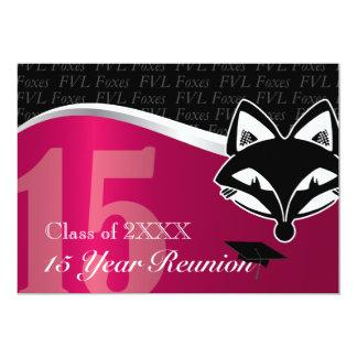 FVL 15 Year Class Reunion 5x7 Paper Invitation Card