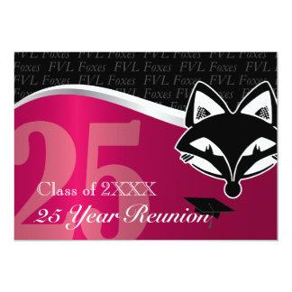 FVL 25 Year Class Reunion 13 Cm X 18 Cm Invitation Card