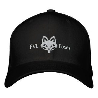 FVL Foxes Embroidered Hat