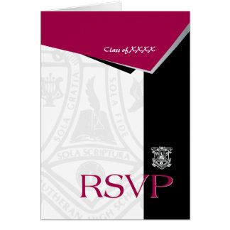 FVL Seal Class Reunion RSVP Note Card